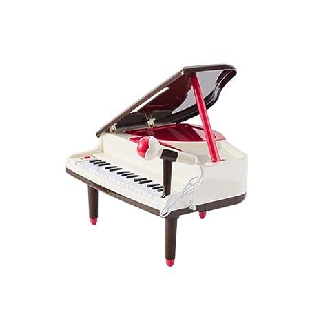 LIUFS-El teclado Piano para niños principiante de 3 años de edad puede tocar teclado