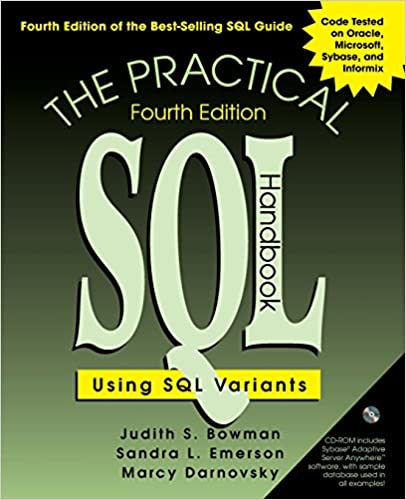 The practical sql handbook using sql variants 4th edition judith the practical sql handbook using sql variants 4th edition judith s bowman sandra l emerson marcy darnovsky 9780201703092 amazon books fandeluxe Images