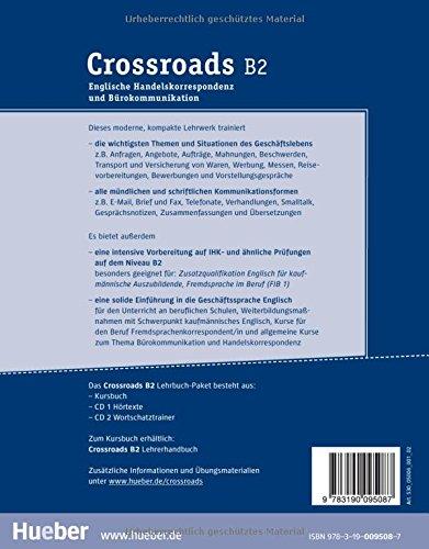 Crossroads Englische Handelskorrespondenz Und Bürokommunikation