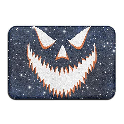 Youbah-01 Indoor/Outdoor Door Mats with Halloween Pumpkin-1 Printed for Livingroom]()