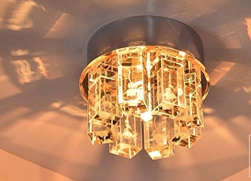 Illuminazione Ingresso Faretti : Yxhflo luce modernledcrystal soffitto faretti luce di ingresso