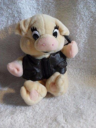 HARLEY DAVIDSON BOOT HILL BOB Plush Stuffed Bean Bag PIG MINT w/TAGS 1999