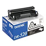 Brother Products – Brother – DR520 Drum Cartridge, 25000 Page-Yield, Black – Sold As 1 Each – Works with toner cartridge (sold separately) to provide accurate printing. – Specifically engineered for reliability. – Snaps easily into place., Office Central