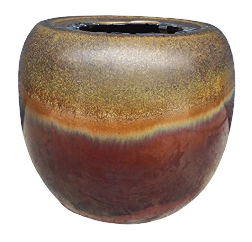 - OutDoozie Nova Ceramic Shimmer Gel Burner, Mahogany