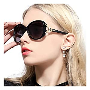 FIMILU Classic Oversized Sunglasses for Women, HD Polarized Lenses 100% UV400 Protection Fashion Retro Eyewear