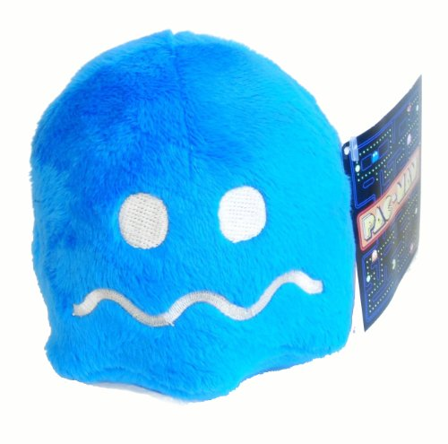 """Used, Pac-Man 4"""" Blue Pellet Ghost Plush for sale  Delivered anywhere in USA"""