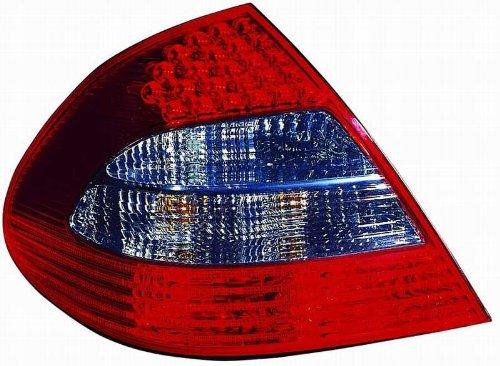 Depo 440-1942L-UQ Mercedes-Benz E-Class Driver Side Replacement Taillight Unit without Bulb 02-00-440-1942L-UQ