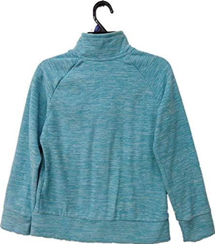 PUMA Girls' Full Zip Jacket (Faster Blue Heather, Medium(8/10))