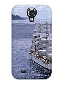 Hot Snap-on Sailship Hard Cover Case/ Protective Case For Galaxy S4