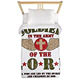 Twin Duvet Cover Soldier in the Army of the Lord