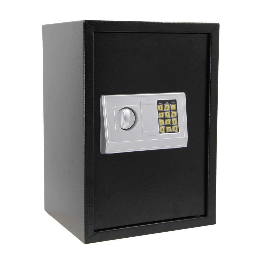 大型ホームセキュリティ電子キーパッドロックコンビネーションジュエルガンオフィスセーフボックス B07HVM53XS