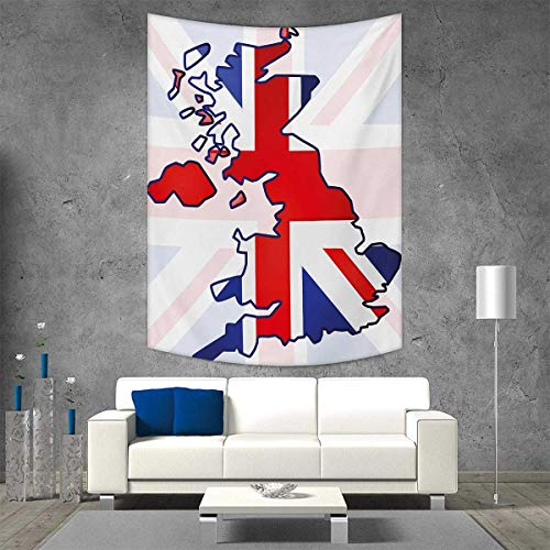 Disneys Animal Kingdom Map - smallbeefly Union Jack Tapestry Table Cover Bedspread Beach Towel Faded United Kingdom Flag Country Map Composition Nations Symbols Dorm Decor 54W x 84L INCH Violet Blue Red White
