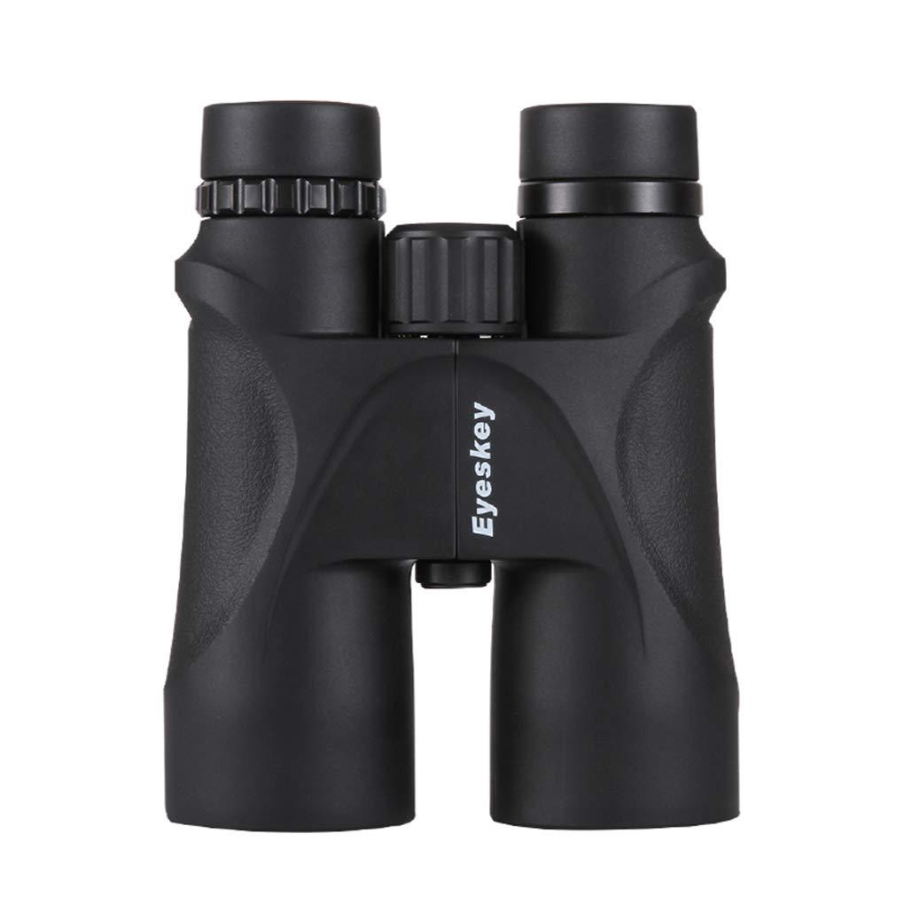 Lidahaotin 10x50 Compact Binocular Nicht Infrarot-Nachtsichtgerät Bak4 Prism Camping Hand Anti-Rutsch-Teleskop