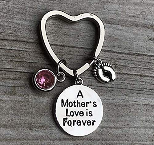 Infinity Collection Mother Keychain, Mom Daughter Gifts for New Moms