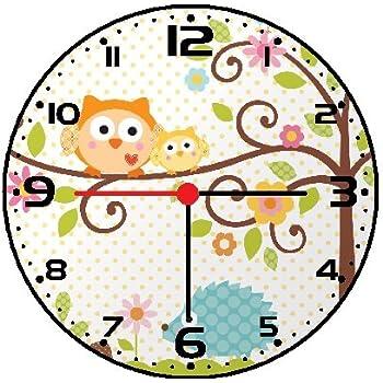 Rusch Inc. Owl Wall Clock