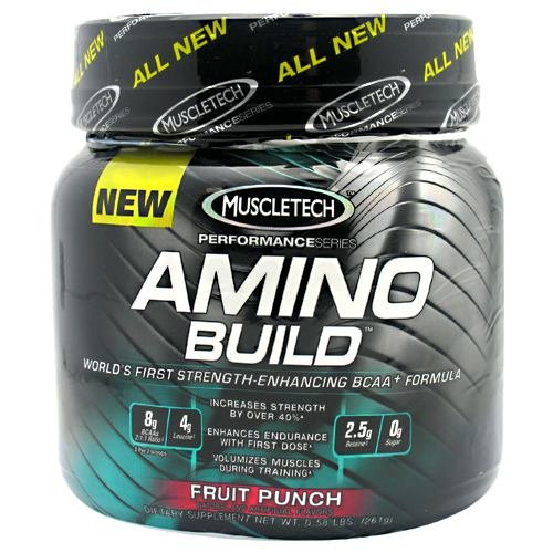 MuscleTech Amino Build Fruit Punch 30 svg*