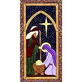 Holy Family Quilt Magic Kit-9.5''X19''