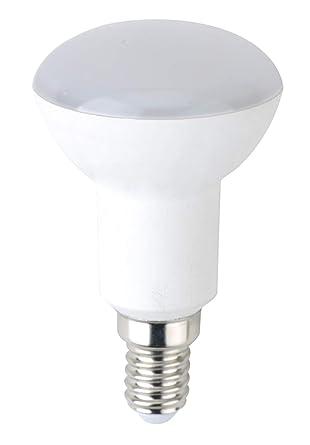 Bombilla LED greenandco® IRC 90+ E14 R50 6W (corresponde a 40W) opaca