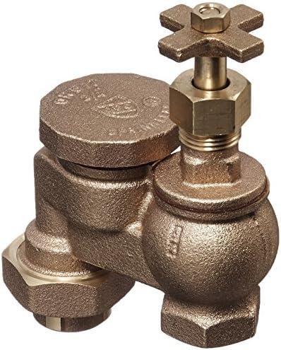 Orbit WaterMaster Underground 51052 3 4-Inch Brass Anti-Siphon Valve with Union