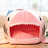 Shark House Pet House Bed for Small Dogs (Medium)