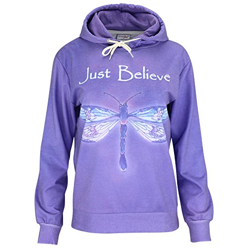 Dragonfly Sweater (Just Believe Dragonfly Lightweight Hoodie)