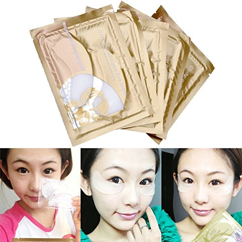 Price comparison product image CCbeauty Collagen Crystal Eye Mask Eyelid Care Patch Pad Moisture Anti-Wrinkle Circles, 10pc