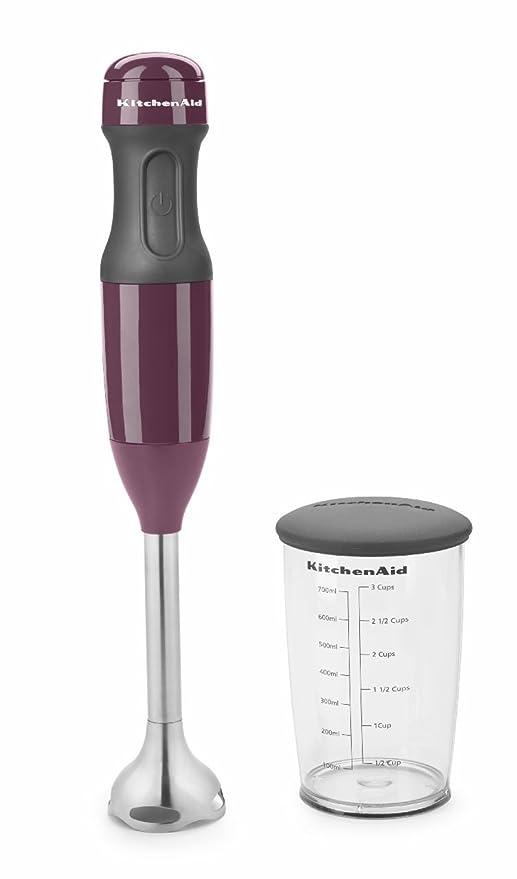 KitchenAid KHB1231BY 2-Speed Hand Blender, Boysenberry