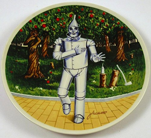 The Wizard of Oz Tin Man If I Only Had a Heart Knowles Collector Plate (Heart Man Of Tin Oz Wizard)