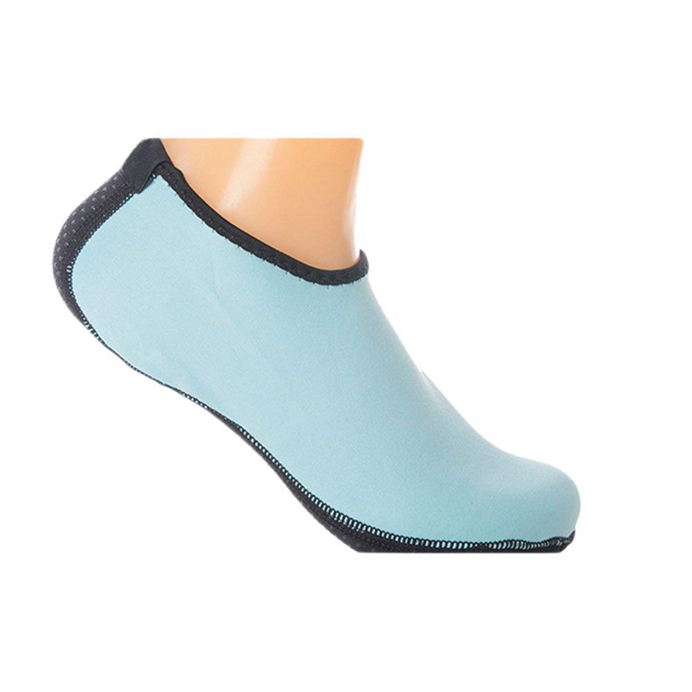 meijunterユニセックス暖かいノンスリップ水スポーツ靴ソックスビーチソックスシュノーケリングスキン靴 Small ブルー B072NC9Y65