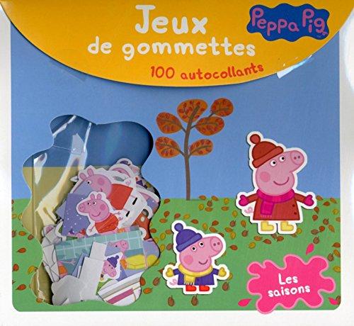 Peppa Pig Les Saisons Jeux De Gommettes Malette Gommettes Lic French Edition C Madeleine Cerf Volant 9782840646662 Amazon Com Books