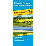 Schleswig - Flensburg - Rendsburg - Eckernförde: Radwanderkarte mit Ausflugszielen, Einkehr- & Freizeittipps, wetterfest, reissfest, abwischbar, GPS-genau. 1:100000 (Radkarte / RK)