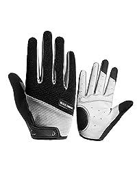 Men Women Outdoor Sports Riding Gloves Non-slip Shock Absorption Wear Mitten