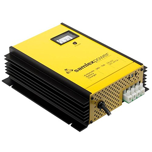 Samlex Sec-2415a 24 Volt 15 Amp 3 Stage Advanced Fully Automatic Battery Charger / Power Supply ()