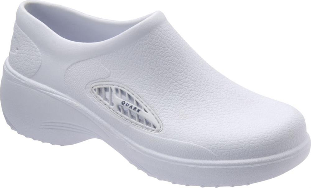 Quark Pro- Air Ii Round Toe Synthetic Clogs, White, Size 8.0