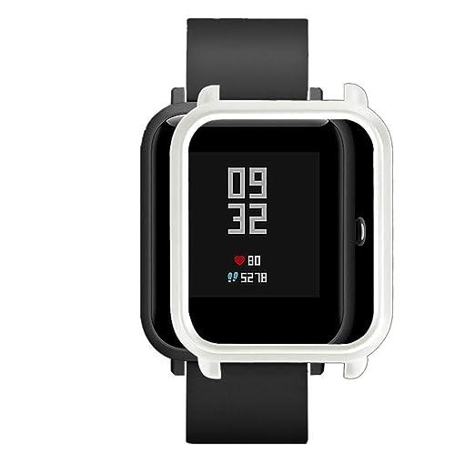 ZHMEI,Estuche de Cubierta para Xiaomi Huami Amazfit Bip Reloj para ...