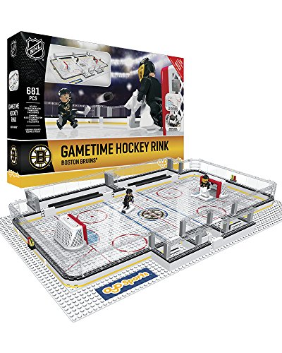 OYO NHL Boston Bruins Full Rink Set, Small, Black from OYO