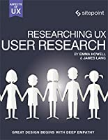 Researching UX: User Research Front Cover