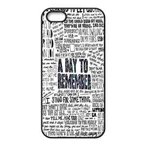 High Quality Customizable Durable Rubber Material A Day To Remember plaster iPhone 5 photos 5S Back Cover incision Case more