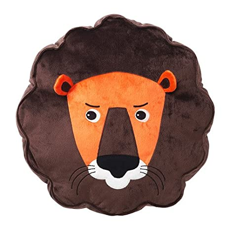 Amazon.com: IKEA Djungelskog Cushion Lion Brown 503.937.50 ...