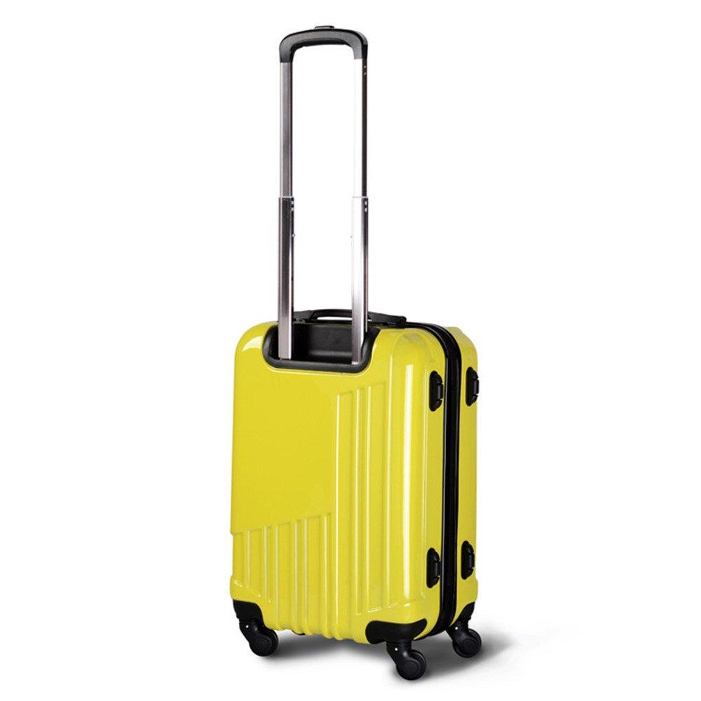 旅行用品荷物スーツケーストロリーケース 優れた回転PC搭乗ロッドボックス万能ホイール20インチプルロッドボックス。 B07S7VH63F