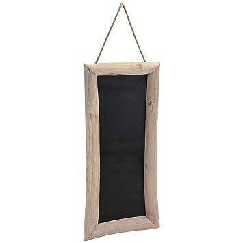 Pizarra con marco de madera, 70 x 30 cm: Amazon.es: Oficina ...
