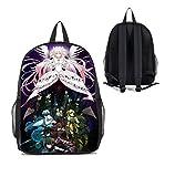 Dreamcosplay Anime Puella Magi Madoka Magica Logo Backpack Student Bag Cosplay