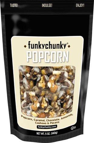 Chocolate Popcorn (FunkyChunky 9650 Chocolate Popcorn Large Bag)