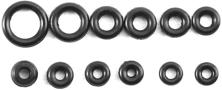 1.4-2.8mm 12 tailles Anneaux en caoutchouc Montres-Couronne Joints Minuscule O-Ring Box Set for joint /étanche O-Ring imperm/éable /à leau