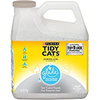 Purina Tidy Cats Clumping Cat Litter; Glade Scented - 6.35 kg Jug