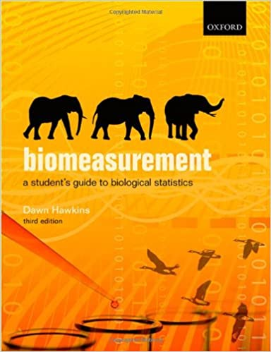 Biomeasurement : a student's guide to biological statistics