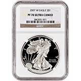 2007 W American Silver Eagle Proof $1 PF70 UCAM NGC