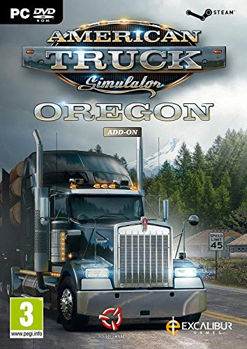 American Truck Simulator Add-on: Oregon (PC DVD) (Truck Games For Ps3)