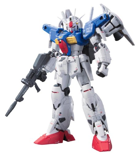 Kit 1 Figure - Bandai Hobby Real Grade #13 Gundam GP01Fb Full Burnern Action Figure Model Kit, 1/144 Scale