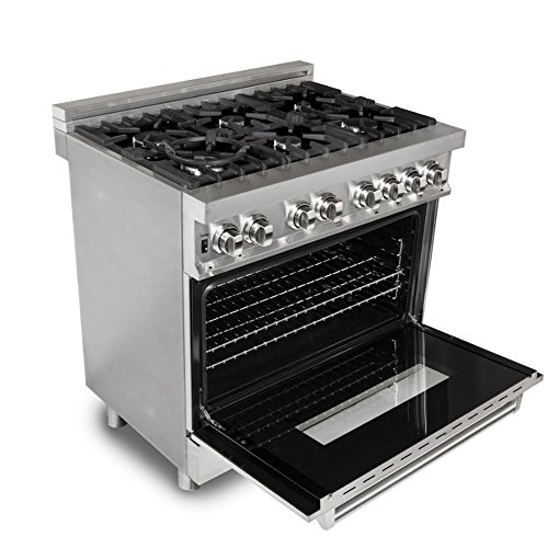 Buy 36 inch gas stove with electric oven